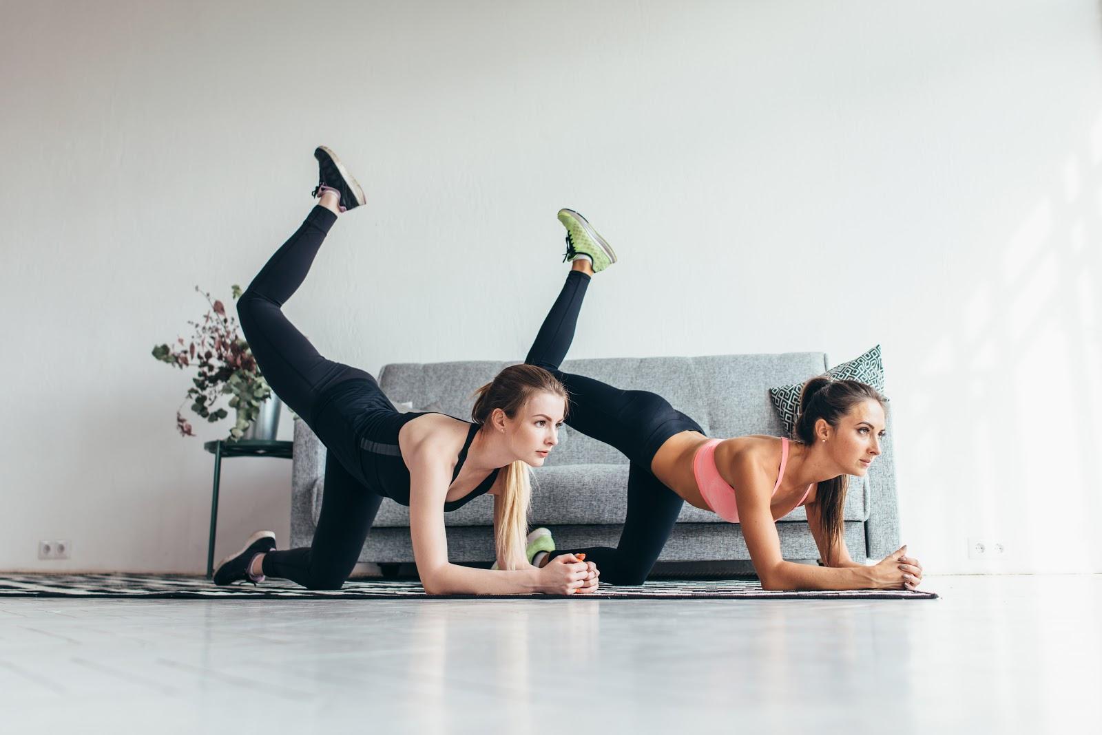 Glute Exercises for Runners: Donkey Kick