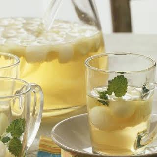 Melon and Lemon Balm Drink.