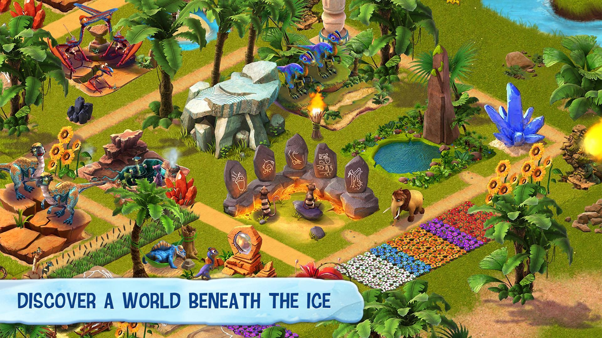 Ice Age Village screenshot #2