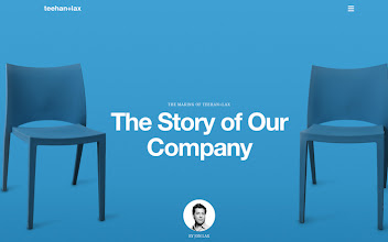 Photo: Site of the Day 15 April 2013 http://www.awwwards.com/web-design-awards/teehan-lax