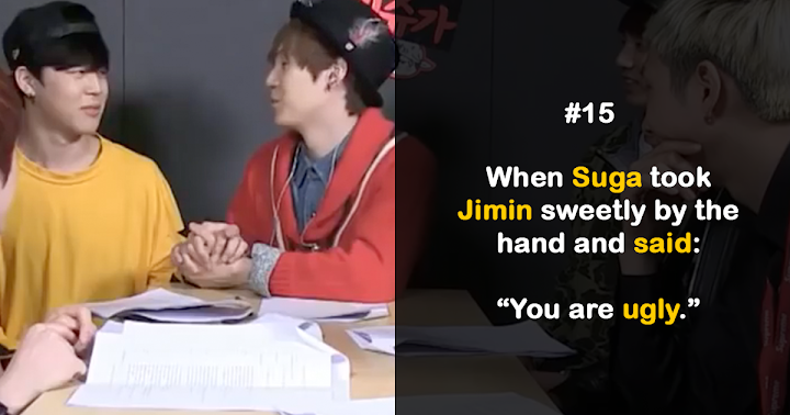 26 Times BTS Members Bullied Each Other On Camera - Koreaboo