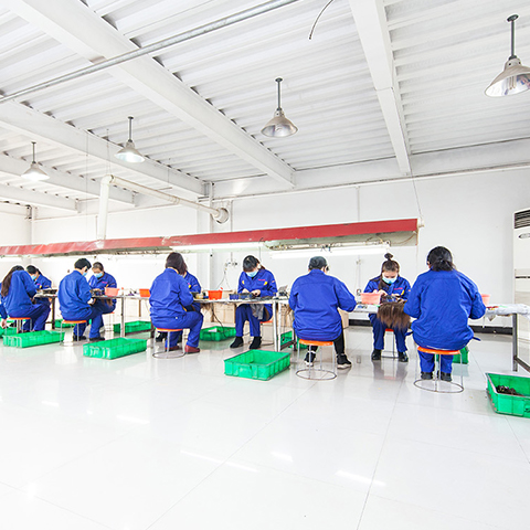 hair extension factory in China
