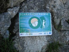 Photo: Aufstieg über den Schrabachsteig (Sübwandsteig)