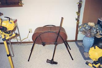 Photo: No 1, Creamery Foot Power Swing Churn,4 Gal., Louisville,Ky. 1893