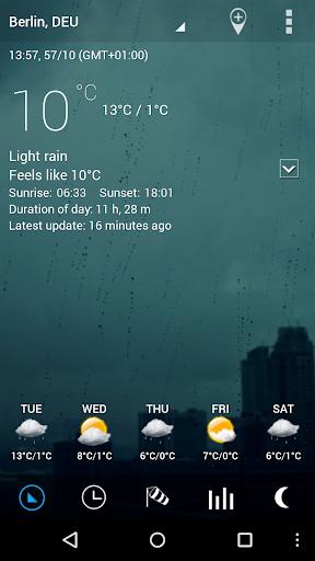 Sense Flip Clock & Weather Pro  screenshots 13