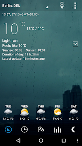 Sense Flip Clock & Weather Pro screenshot 12