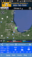 Screenshot of WGN Weather