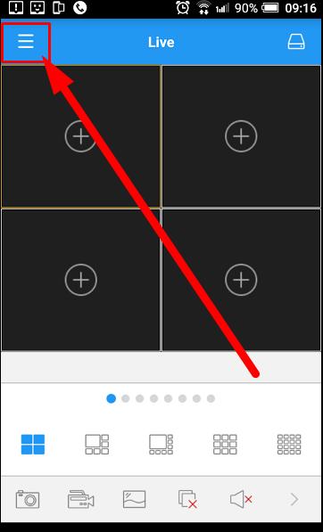 Hướng dẫn xem Camera quan sát Samsung qua điện thoại