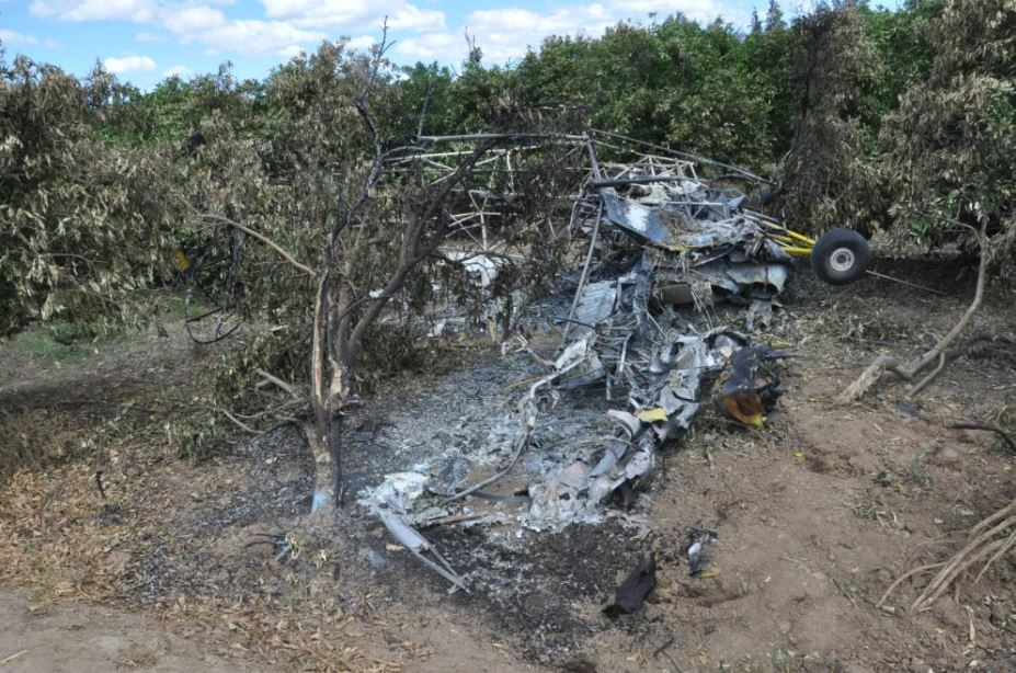 Crop-spraying pilot died in Eastern Cape orchard crash after clipping tree