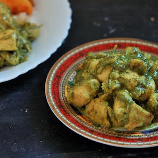 Hariyali Chicken Curry recipe-Murgh Hariyali Masala
