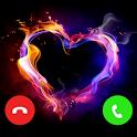 Brightest Flashlight- Call Screen, Color Flash icon