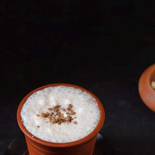 Sweet Lassi | Indian Yogurt Drink