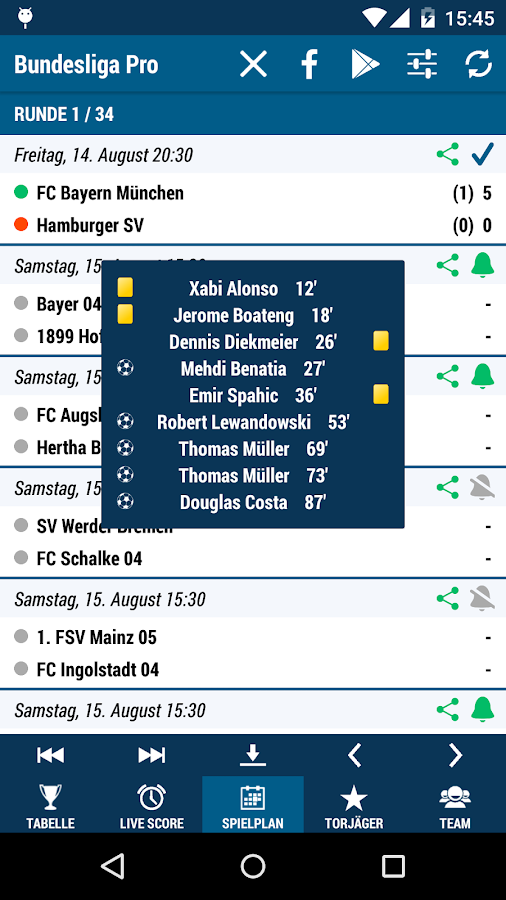 Bundesliga Pro- screenshot