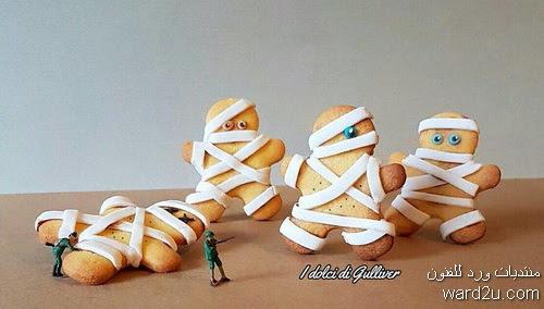 ابداعات الشيف الايطالى Matteo-Stucchi