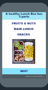 Download Healthy Lunch Box For PC Windows and Mac apk screenshot 2