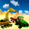 Sand Excavator Tractor  Sim icon