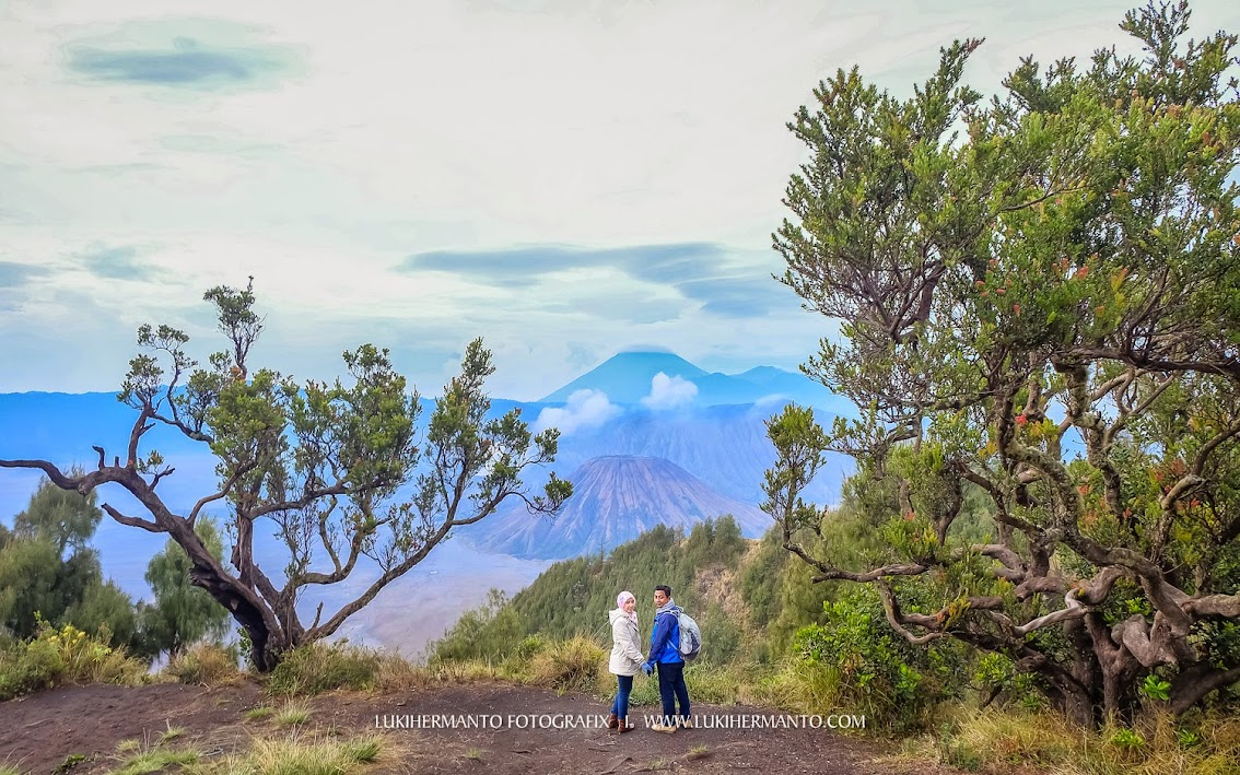 Foto prewedding bromo adventure