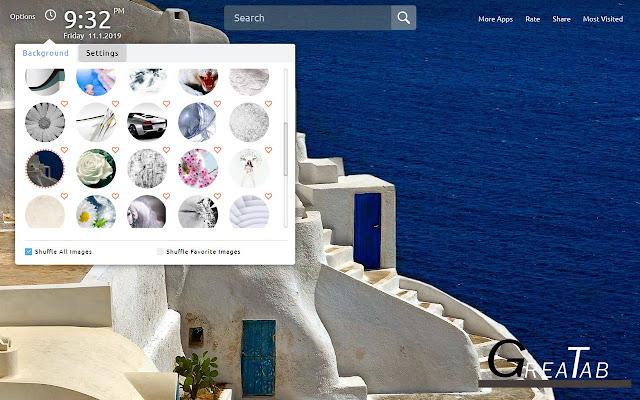 White Wallpapers White Theme|GreaTab