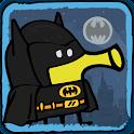 Doodle Jump DC Heroes - Batman icon