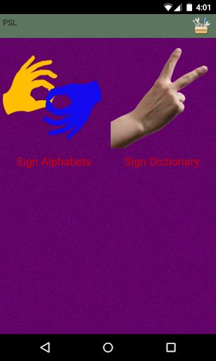 Pakistani Sign Language