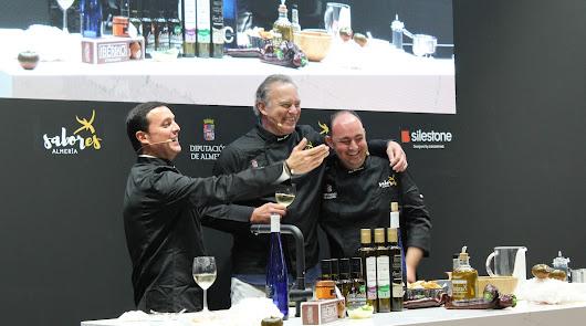 'Sabores Almería' triunfa en el Salón Gourmets de la mano de Bertín Osborne