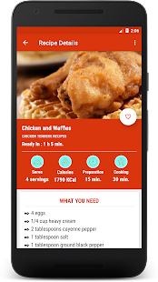 Download Chicken Recipes KFC: KFC Style Chicken Recipes for Windows Phone apk screenshot 4