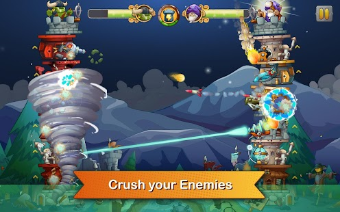 ApkMod1.Com Tower Crush weapons battles + (unlimited coins) for Android Arcade Game