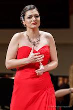 Photo: ABSCHIEDSKONZERT JOSÉ CARRERAS am 22.3. 2017 im Wiener Konzerthaus. Lena Belkina (Mezzosopran). Copyright: DI. Dr. Andreas Haunold