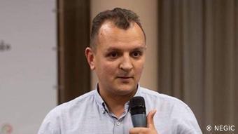 Лікар-епідеміолог Андрій Александрін