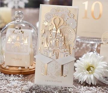 Nápady na svatební pozvánky - náhled