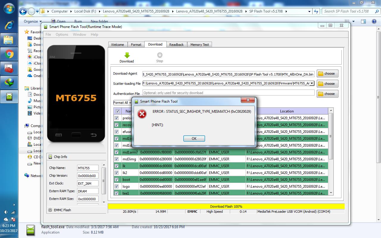 LENOVO a7020a48 flash file request - GSM-Forum