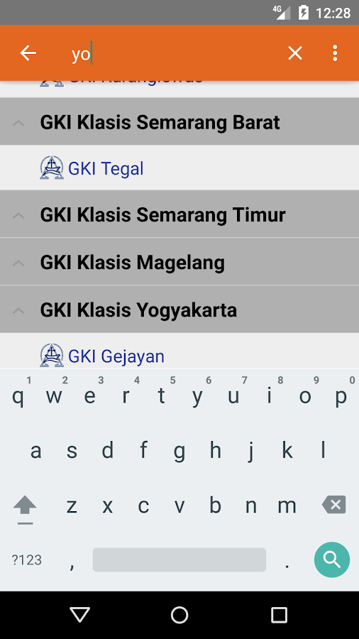GKI SinWil Jateng Mobile- screenshot