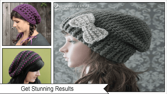 Einfache häkeln Slouch Hats Muster – Android-Apps auf Google Play