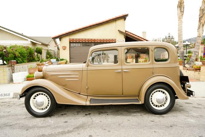 1935 Chevrolet 4-Door Standard Sedan Hire CA