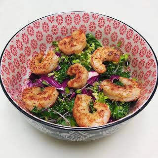 Spicy Shrimp Super Salad.
