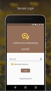 Cashew Secure Messenger- screenshot thumbnail