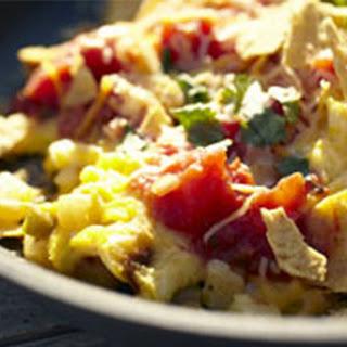 Fast Mexican Egg & Potato Breakfast Skillet