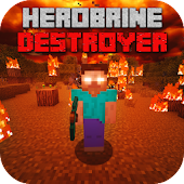 Mod Herobrine Destroyer Android APK Download Free By Deluxe Gaming Mods