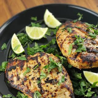 Chili Cilantro Lime Chicken.