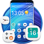 Launcher theme for galaxy APK