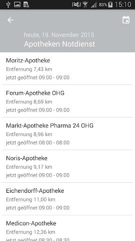 android Alte Apotheke Heroldsberg Screenshot 2