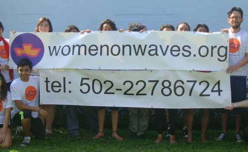 Guatemalan navy seizes abortion ship