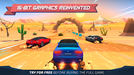 Horizon Chase - World Tour apk mod screenshots 2