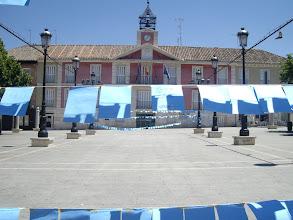 Photo: Mural en la Plaza del Ayuntamiento