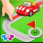 Kleine Straßen: Fahrzeugpuzzle icon