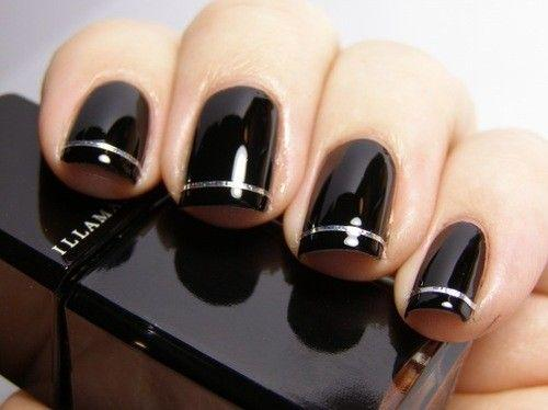 Attention Everyone: 15 Reasons to NOT Retire Black Nail Polish!: Girls in the Beauty Department
