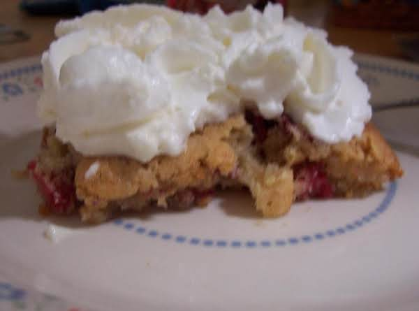 Cranberry Cookie Bars ~ Recipe