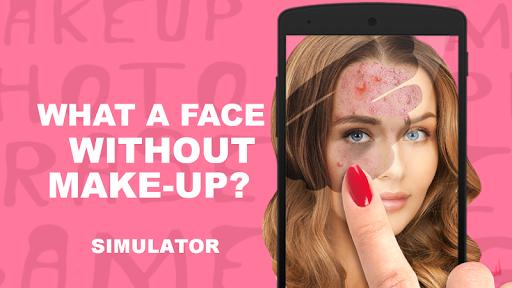 Makeup Photo Erase Simulator