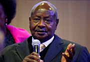 Uganda's President Yoweri Museveni was reelected on Saturday.