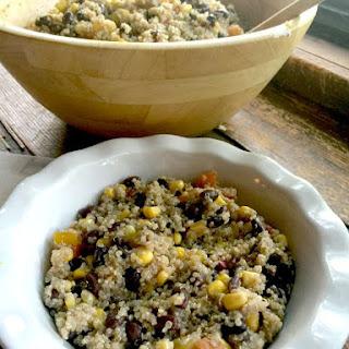 Vegan Quinoa Black Bean Salad (21 Day Fix Approved, Gluten-free, Vegan)
